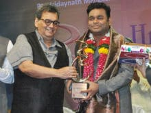 A R Rahman Receives Hridaynath Mangeshkar Award