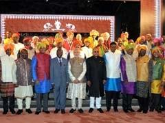 African Leaders' 'Kurte Pe Charcha' With PM Modi