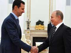 Syria's Bashar al-Assad Flies to Moscow to Thank Vladimir Putin for Air Strikes