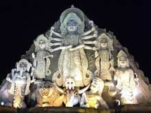 Amitabh Bachchan Shares Picture of World's Largest Durga Idol