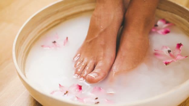 argan oil for feet