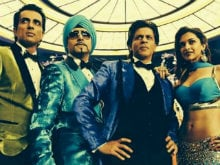 Happy New Year Turns One. Shah Rukh Misses His Indiawaale