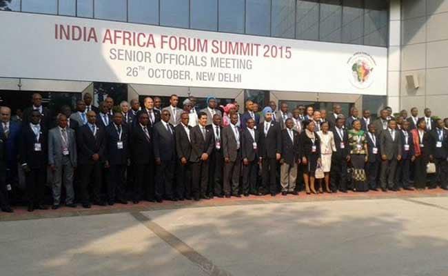 India-Africa Forum Summit Begins in Delhi
