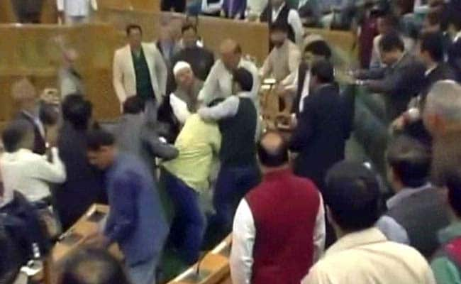 Jammu and Kashmir Lawmaker Thrashed By BJP Members Day After Beef Party
