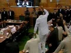 Protests in Jammu and Kashmir Assembly for Second Day