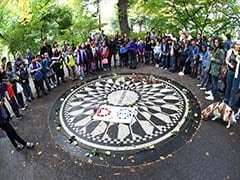John Lennon Fans Mark 75th Birthday With Central Park Sing-In