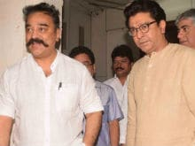 Kamal Haasan Gets Warm Welcome From Raj Thackeray's Family