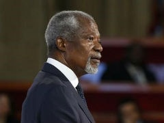 Ex-UN Chief Kofi Annan Faces Protests For Visit To Restive Myanmar State