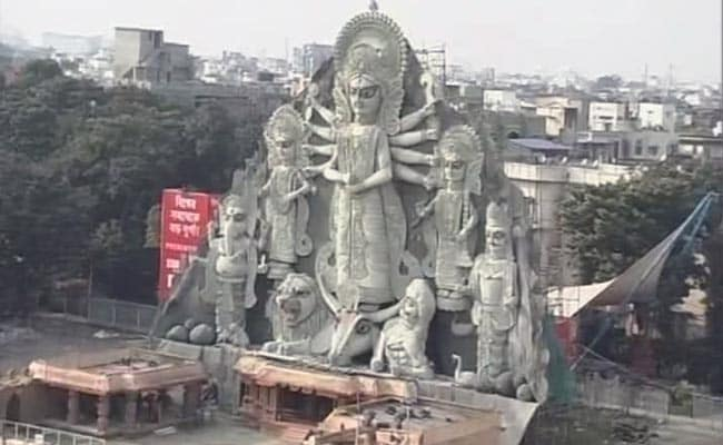 Tallest Durga Idol to be Kolkata's New Landmark