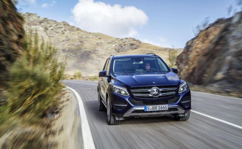 Mercedes benz gle suv launched in india priced at rs 58 for Mercedes benz suv india