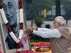 PM Modi Pays Tributes To Sardar Vallabhbhai Patel On His Death Anniversary