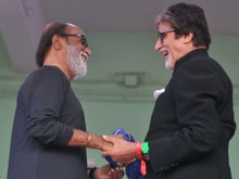 Amitabh Bachchan Had 'Great Company' on Saturday. So Did Rajinikanth