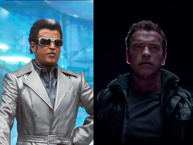 There May be Rajinikanth vs Arnold Schwarzenegger in Enthiran 2