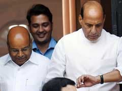 Development, Not Beef Row, Should Be Discussed During Polls: Rajnath Singh