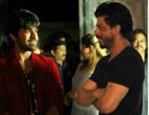 Shah Rukh Khan Visited Ram Charan Teja, and 'Girls Went Crazy'