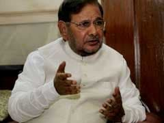 Government Should Concentrate On Key Issues Facing Country: Sharad Yadav