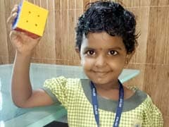 This 4-Year-Old Could be Chennai's Newest Rubik's Cube Champion