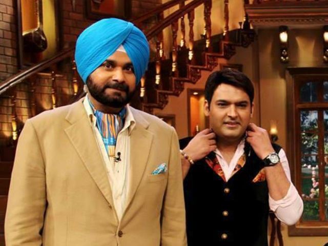 Image result for kapil with navjot sidhu