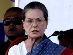 Sonia Gandhi Likely To Visit Mehbooba Mufti In Kashmir Today