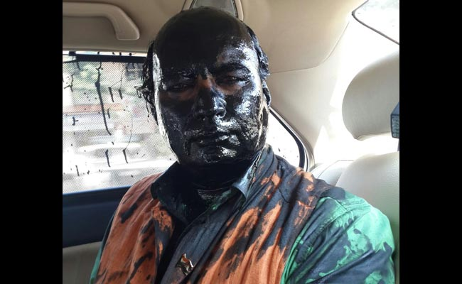 Police Case Against Unidentified Men After Paint Attack on Sudheendra Kulkarni