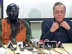 Sudheendra Kulkarni Addresses Media After Paint Attack: Highlights