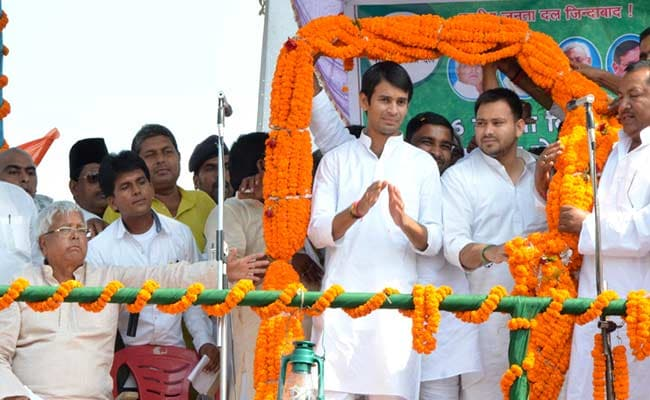 Lalu Prasad Yadav's Younger Son is 26 and Older Son is 25
