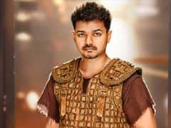 Actor Vijay's Puli Gets Off to Nervous Start After Delays, Raids