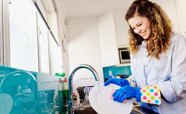 Believe It! Washing Dishes Reduces Stress