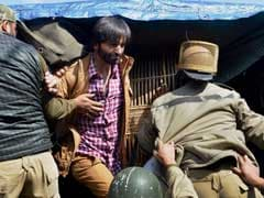 Trucker's Death: Separatist Yasin Malik Detained in Srinagar