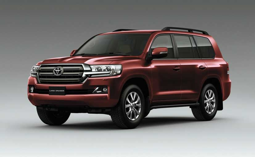 new toyota land cruiser 200 launched in india priced at rs crore ndtv carandbike. Black Bedroom Furniture Sets. Home Design Ideas