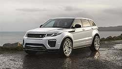2016 Land Rover Evoque Launched; Priced at Rs. 47.10 Lakh