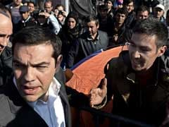 Alexis Tsipras, Visiting Lesbos, Says Greece Cannot Cope With Refugees