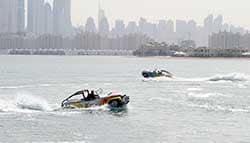 World's First-Ever Amphibious Car Performance Held at Dubai Motor Festival