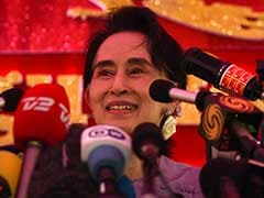 Myanmar's Aung San Suu Kyi Says Will Be Above President in New Government