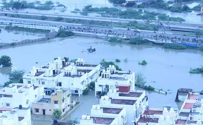 Army, Air Force Assist In Rescue As parts Of Chennai Remain Marooned