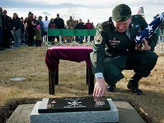 'Major Mike' Receives Burial Worthy of the Decorated War Dog He Was