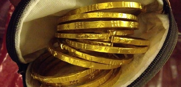 Gold Hits Nine-Week High as China Worries Hit Stocks