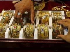 Gold Prices Fall By Rs 105 On Weak Global Cues