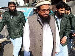 Hafiz Saeed Dismisses Rajnath Singh's Claim Over JNU Protests