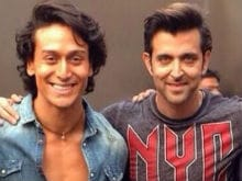 Tiger Shroff Not 'Competing' With Hrithik But Hopes to 'Get There'