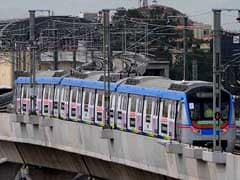 Hyderabad Metro Rail Showcases Sample Station Retail Stores