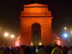 India Gate Lights Up in Orange for UN's Violence Against Women Campaign
