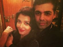 Karan Johar: Absolutely Wonderful to Work With Aishwarya Rai