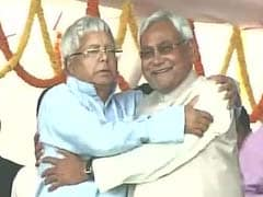 'Don't Lecture Nitish Kumar,' Says His Party on Lalu Yadav's Criticism