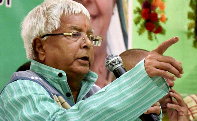Lalu Prasad Acts As Proxy For Health Minister Son, 'Raids' Hospital