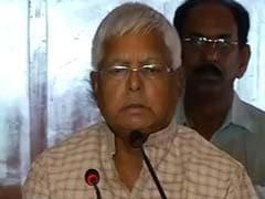 'Bihar Mandate Was For Fight Against Narendra Modi in Delhi': Lalu Yadav
