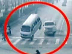 Bizarre Video Shows Cars 'Levitating' in China