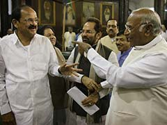 PM, Congress Leader Kharge's Shake-hand Moment After Heated Debate