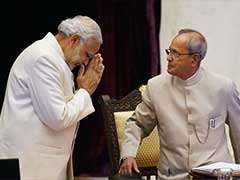 When I Was New To Delhi, Pranab <i>Da</i> Held My Finger, Guided Me: PM Modi