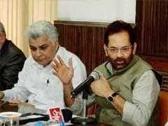 Linking Terrorism With Religion Will Help Terror Groups: Mukhtar Abbas Naqvi